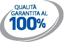 100% qualità garantita